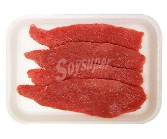 Filetes de contra de 1ª A de ternera blanca 250 gramos aproximados