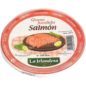 La Irlandesa Crema de queso fundido con salmón para untar Tarrina 125 g