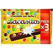 Chocolatina Paquete 66 g Lacasitos Lacasa