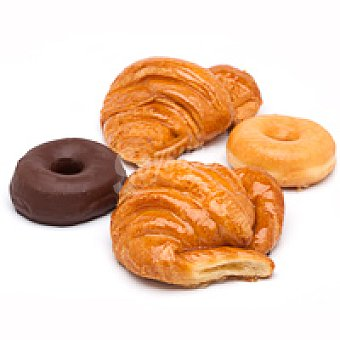Eroski Surtido 2 croissant-4 berlinas Bandeja 6 unid