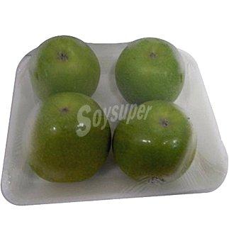 Manzana acida nacional en Bandeja de 4 unidades 800 grs