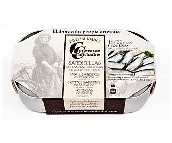 Conservas de cambados Sardinillas en aceite de oliva 115 g