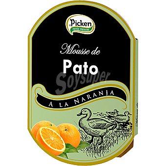 Picken Mousse de pato a la naranja Envase 160 g