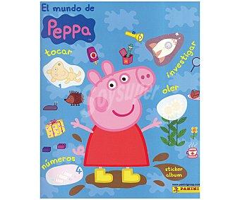 PANINI Álbum de cromos coleccionables de Peppa Pig 2015 1 unidad