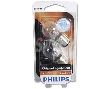 Philips Bombillas convencionales para automóvil, modelo: P21/5 , potencia: 5-21W 2 Unidades