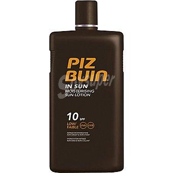 PIZ BUIN In Sun loción solar hidratante FP-10  frasco 400 ml