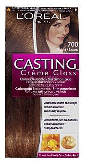 Casting Crème Gloss L'Oréal Paris Tinte coloracion tono sobre tono Nº 700 rubio creme gloss 1 unidad