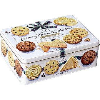BORDER BISCUITS Selection galletas surtidas escocesas receta clásica lata 500 g lata 500 g