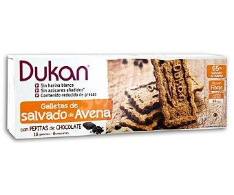Dieta Dunkan Galletas de salvado de avena con pepitas de chocolate Envase 225 g