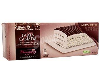Menorquina Tarta helada de nata con láminas de chocolate 1 litro