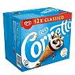 Cono de helado de nata Caja 12 u x 90 ml Cornetto Frigo
