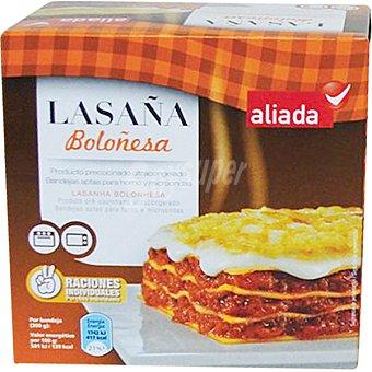 Aliada Lasaña boloñesa 2 raciones individuales Estuche 600 g