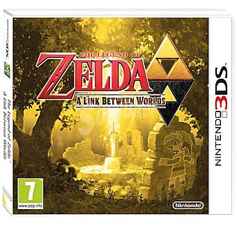 Nintendo Videojuego The Legend Of Zelda: A Link Between Worlds para 3DS
