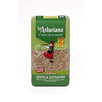 La Asturiana Lenteja cocción rápida Paquete 1 kg