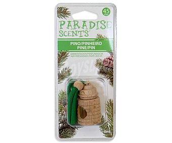 Paradise scents Ambientador madera auto aroma pino Envase 5 ml