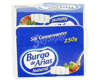 Burgo de Arias Queso fresco natural 250 Gramos