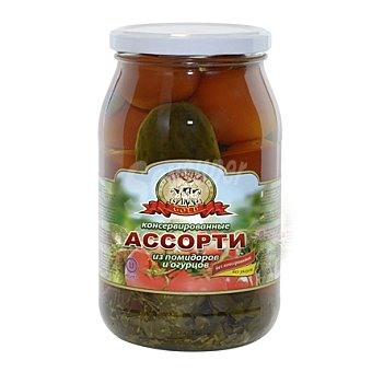 Tpouka Surtido de tomate y pepino 880 g