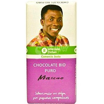 Intermón Oxfam Chocolate Bio Puro Mascao 100g