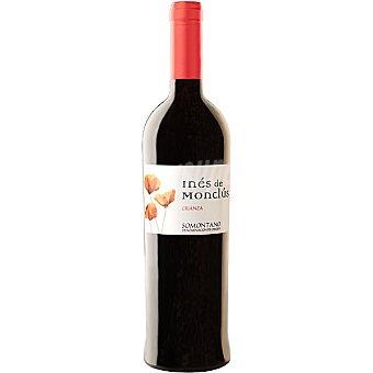 INES DE MONCLUS Vino tinto tempranillo crianza D.O. Somontano botella 75 cl Botella 75 cl