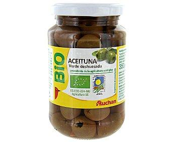 Auchan Aceituna verde deshuesada Biológica (procedente de agricultura ecológica) 170 g