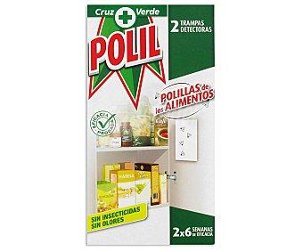Polil Raid Trampa para Polillas de los Alimentos 2u