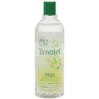 Timotei Champú fresco y puro cabello normal a graso Bote 400 ml