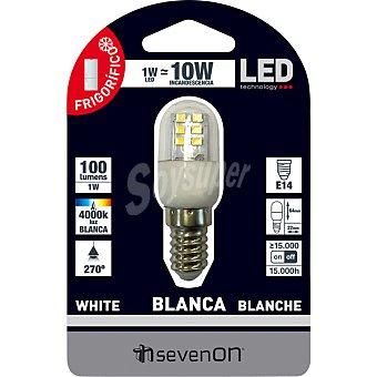 SEVENON 1 W (25W) lampara LED para frigorifico E14 (fino)