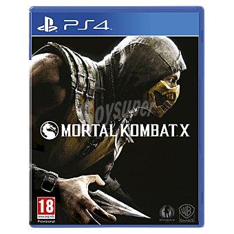 PS4 Videojuego Mortal Kombat X  1 Unidad