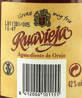 Ruavieja Aguardiente de Orujo Botella 75 Centilitros