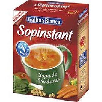 Gallina Blanca Sopinstant con verduras Caja 78 g