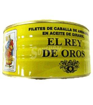 Rey de Oros Filete caballa aceite girasol 650 g