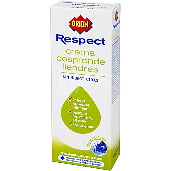 Orion Crema despendre liendres sin insecticida incluye liendrera Frasco 100 ml
