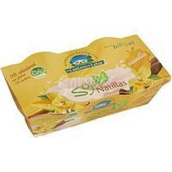 CANTERO de LETUR Natillas de soja de vainilla Pack 2x125 g