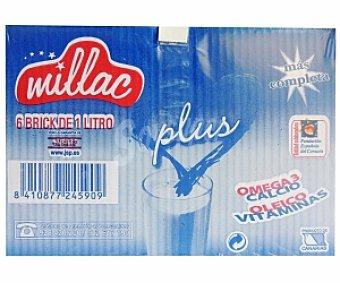 MILLAC Preparado Lácteo Plus (Omega3,calcio) 6x1l