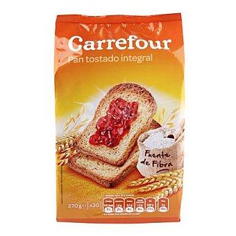 Carrefour Pan tostado integral 270 g