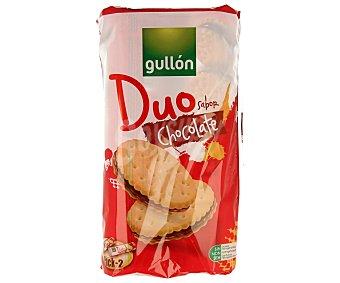 GULLÓN Galletas rellenas de crema sabor chocolate pack de 2 unidades de 250 gramos