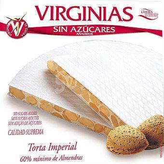 Virginias sin azúcar torta imperial 60% mínimo de almendra Unidad 200 g