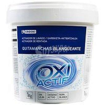 EROSKI Oxi Quitamanchas ropa blanca Bote 1 kg