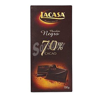 Lacasa Chocolate negro intenso 70% cacao 150 g