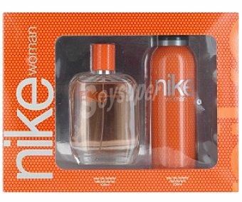 NIKE Woman Estuche: Colonia 100ml + Desodorante 200ml 1 Unidad