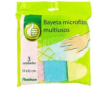 Productos Económicos Alcampo Bayeta Microfibra 1 Unidad