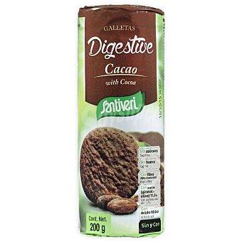 Santiveri Galletas Digestive con cacao Paquete 200 g