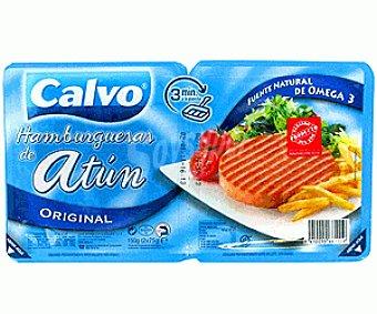 Calvo Hamburguesa de atun 150 g