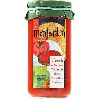 MONJARDIN Tomate natural triturado de cultivo ecológico Frasco 660 g