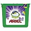 Pods detergente máquina 3 en 1 color en cápsulas 24 uds Ariel