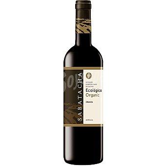 Sabatacha Vino tinto ecólogico D.O. Jumilla Joven Botella de 75 cl