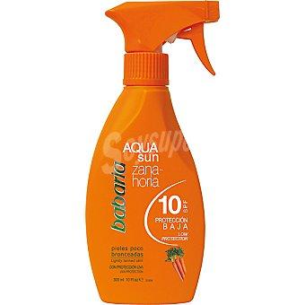 Babaria Zanahoria FP-10 Aqua Sun Frasco 300 ml