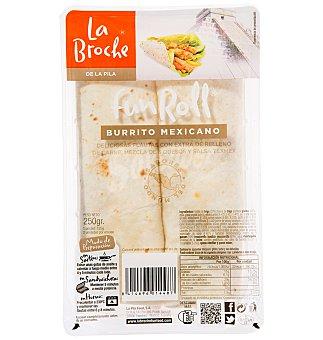 La Broche Funroll burrito mexicano 250 g