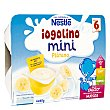 Mini postre lácteo con plátano Pack 6x60 g (estuche 360 g) Iogolino Nestlé