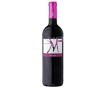M de MURVIEDRO Vino tinto syrah con denominación de origen Valencia botella de 75 centilitros